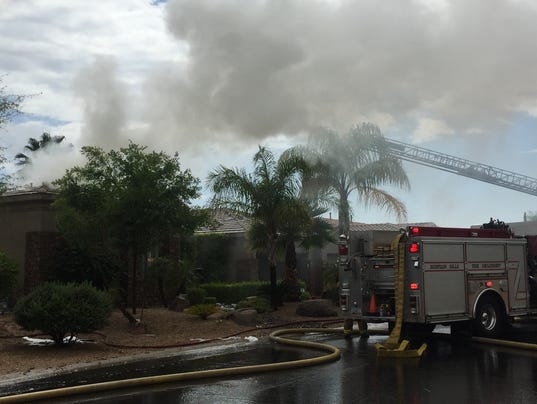 People Pets Escape Fountain Hills House Fire