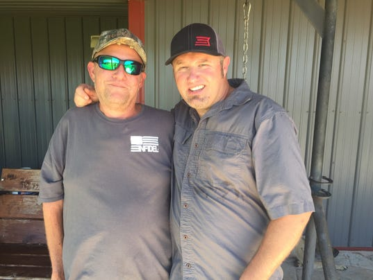 Bragg left with brian quot pigman quot quaca during the shankfest hunting