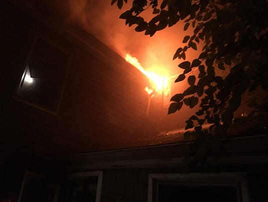 Row home fire 2