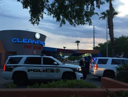 Glendale road-rage shooting