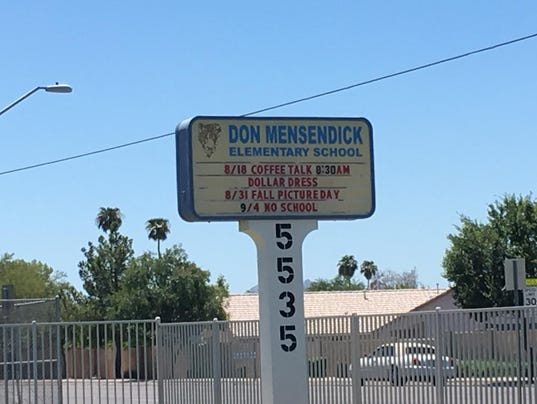 Fire extinguisher goes off at Glendale elementary