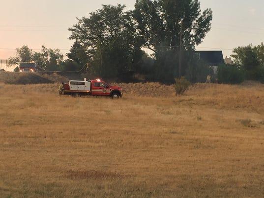 Fire at Verde Park