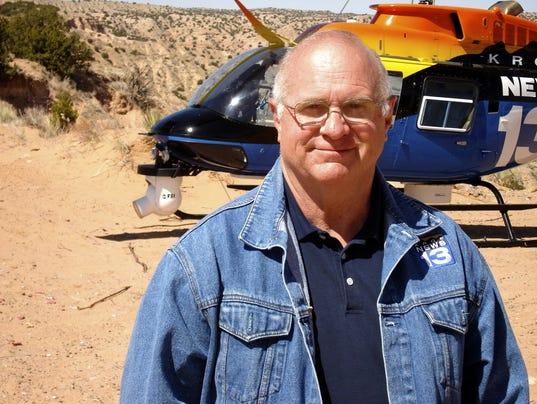 KRQE TV reporter Bob Martin