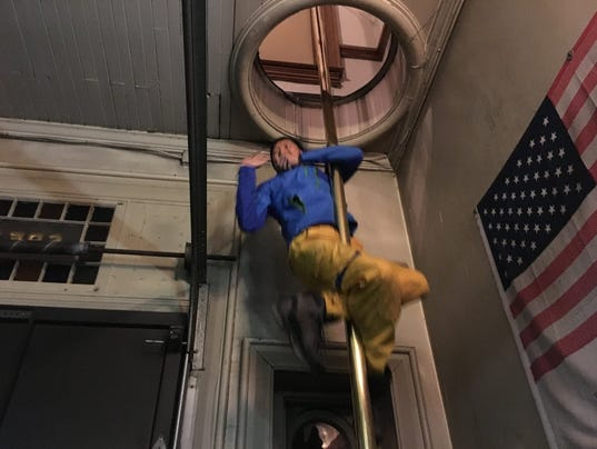 Firefighters from Taiwan visit the York City fire department