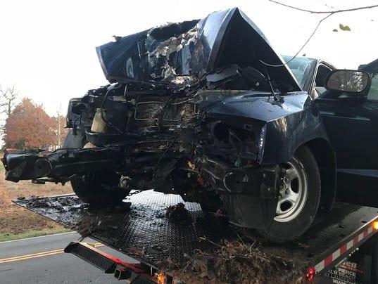 Car crash in Louisville, Tenn.