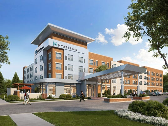 636077402277669680 Wc Hyatt Jpg Rendering Of The Proposed House Hotel In West Chester
