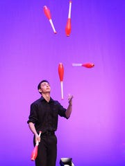 Jonah Botvinick-Greenhouse won gold at the International Juggling Association Festival.
