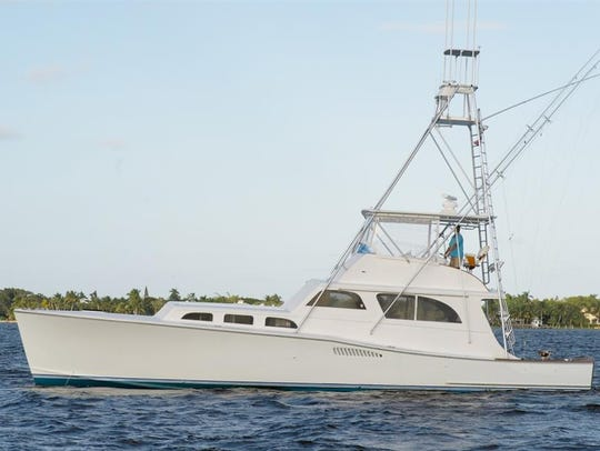 Sea Lion, a 53-foot Whiticar built in 1963 in Stuart,