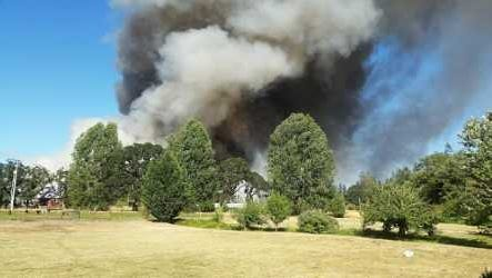 The Department of Agriculture  permits field burns under certain circumstances in the areas of the Willamette Valley.