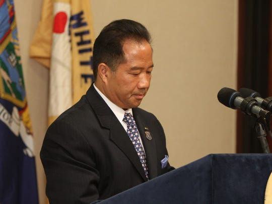 White Plains Public Safety Commissioner David Chong's salary and NYPD pension total $236,640.
