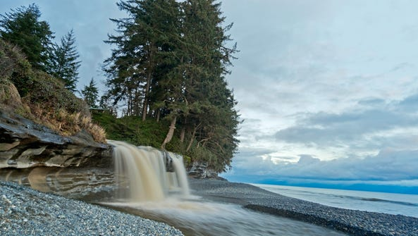 Stock image of Vancouver Island.