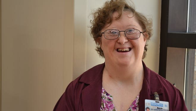 Mary Jo Miller and her infectious smile have been part of the ProMedica Memorial Hospital scene since 2003.