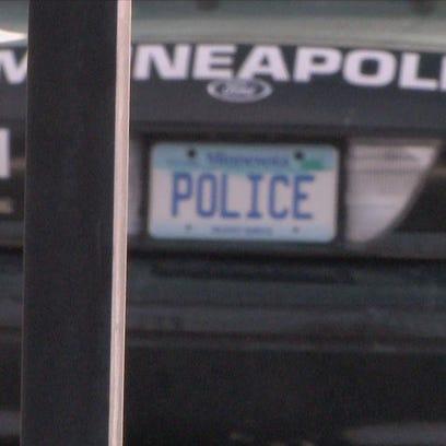 Minneapolis Police Squad car - Stock Photo