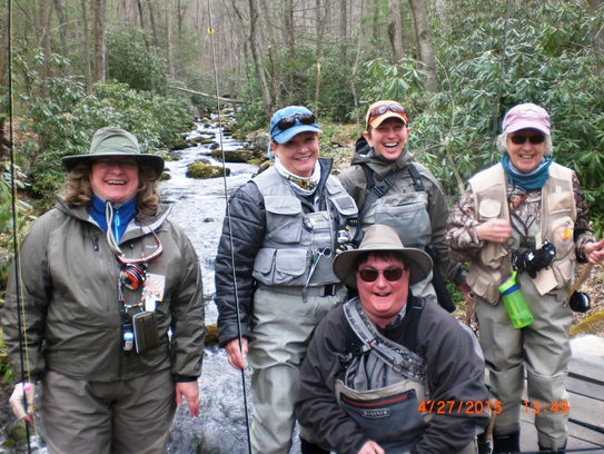 A love of fly-fishing unites the Flygirls of Michigan,