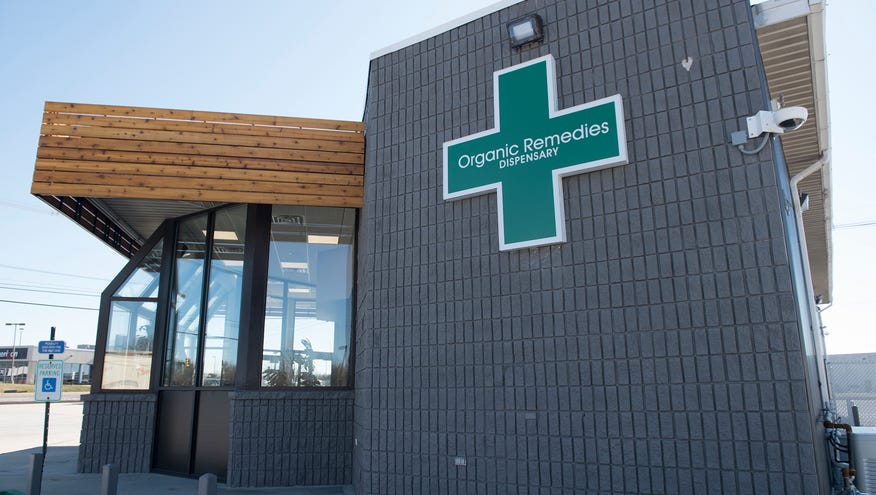Here's what it looks like in the medical marijuana