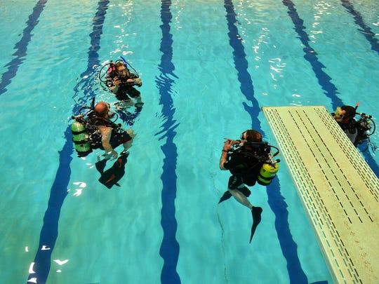 Ken Leppell of A and Z Scuba teaches scuba classes