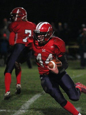 Hunter Luepke has helped the Spencer/Columbus Catholic football team get off to a strong start this fall.