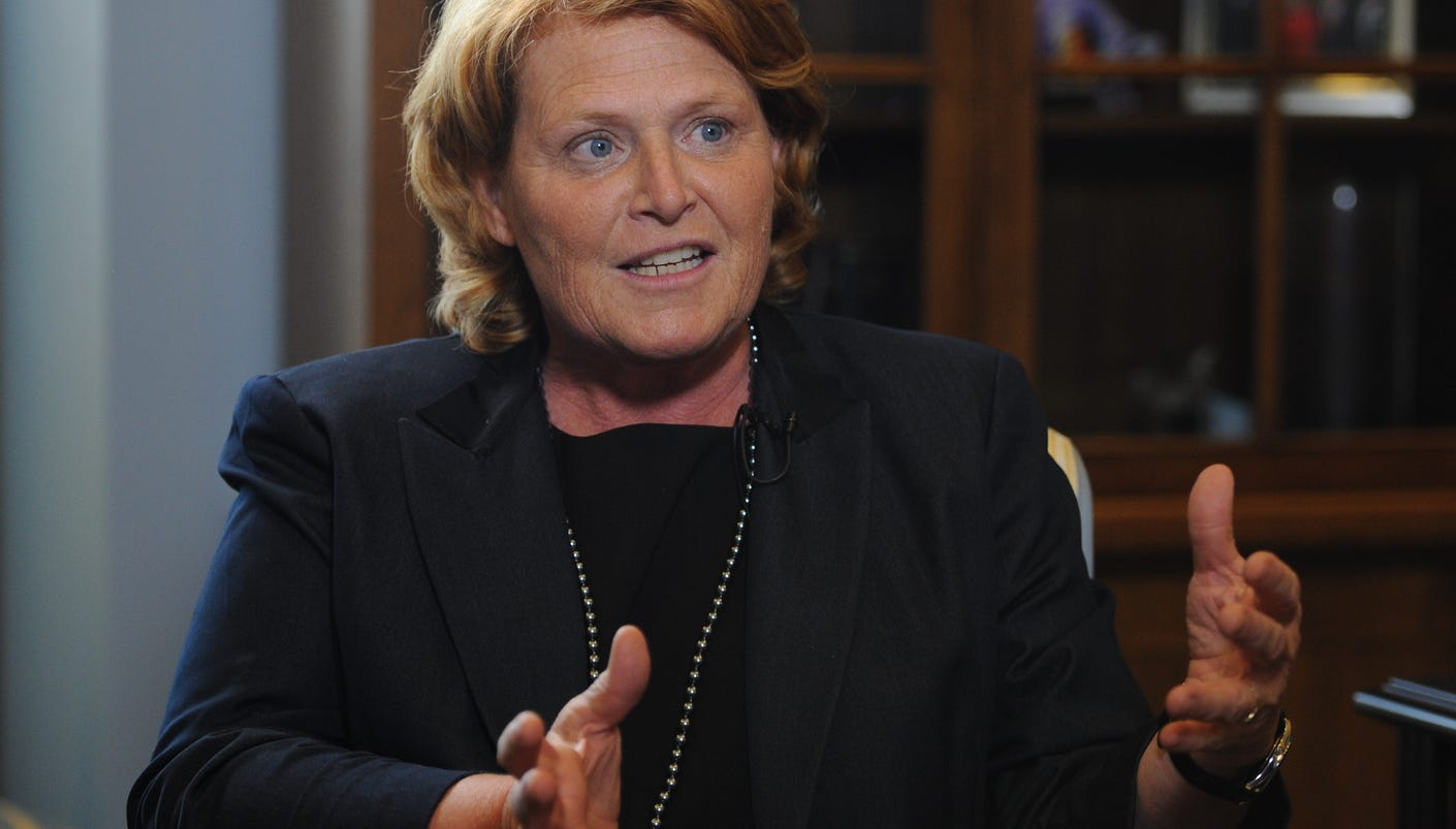 Heitkamp Warns Obama On Keystone Xl Pipeline Approval