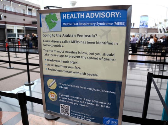 Health officials see possible 3rd MERS infection in U.S.