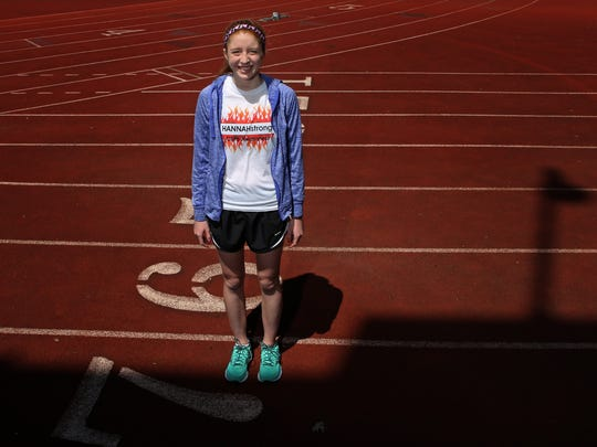 Hannah Helmers, a 19-year-old UC student, is running