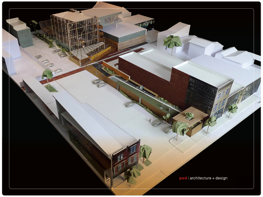 Rendering of the Rabbit Hole distillery in NuLu.