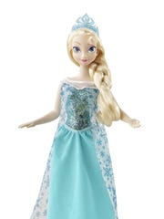 The Disney Frozen Sparkle Princess Elsa Doll