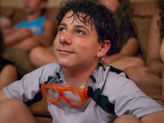 "Gabe (Jake Ryan) is a nerdy kid in ""Eighth Grade."""