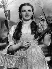 "Judy Garland in ""The Wizard of Oz"""