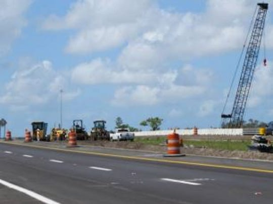 Work to widen Interstate 75 from Dr. Martin Luther King Junior Boulevard to Luckett Road began in May, 2010 aided by  the federal economic stimulus program.