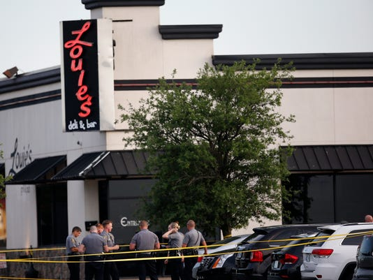 AP RESTAURANT SHOOTING-OKLAHOMA A USA OK
