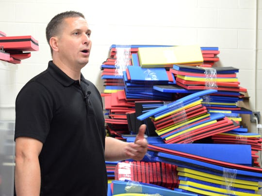Peter Mayer, owner of FoamFit Tools, quit his full-time engineering job to start the company that focuses on producing foam organizers for tool boxes.