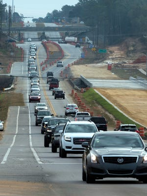 With ongoing construction and the build-out of the Navy Federal campus in Beulah, some government officials, resident and business leaders are seeking an exit to Interstate 10 to elevate traffic congestion on Highway 90.