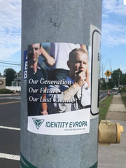 Flyers for the white supremacist groups Identity Evropa have been found on college campuses across the United States.
