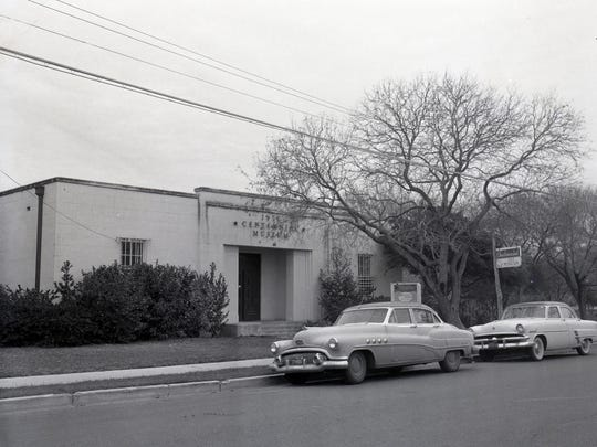 The 1936 Centennial Museum in South Bluff Park on Park Avenue near Tancahua Street in January 1957.
