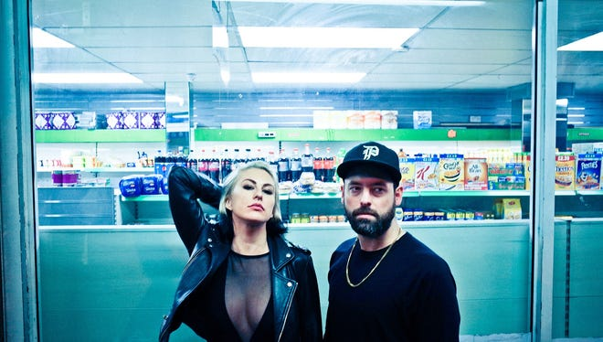 Phantogram will perform at the 2017 Fountain Square Music Festival.