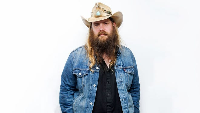 Chris Stapleton will perform Sept. 9 on the Great Lawn at Waterfront Park.