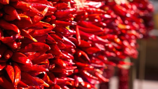 As a green chile pod turns red, vitamin A content increases and you can meet your daily vitamin A requirement by consuming ½ tablespoon of ground red chile.