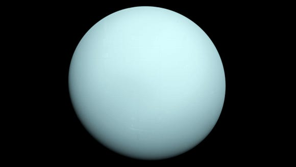 Uranus is the seventh planet from our Sun in the solar
