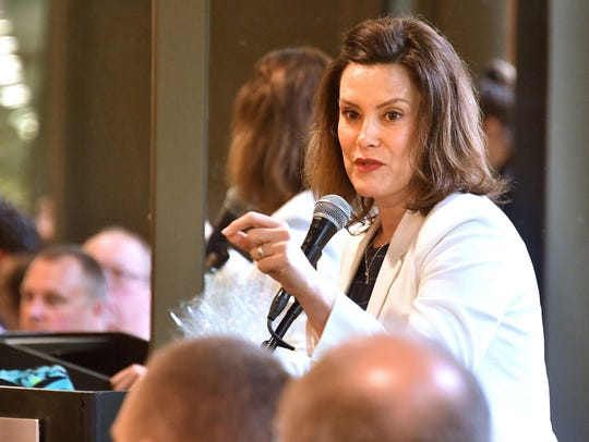 Democratic candidate for governor Gretchen Whitmer