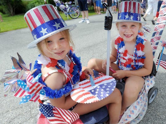 A file photo from the 2015 Bethany Beach Fourth of July parade.