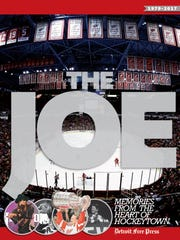 "Cover art of the Free Press' new book, ""The Joe: Memories"