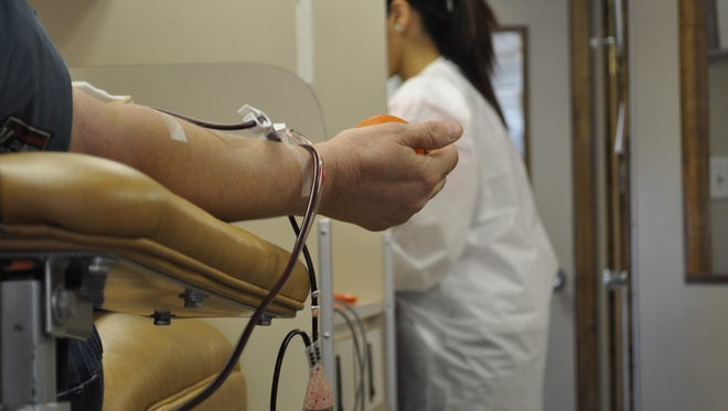 United Blood Services supplies all the transfusion needs for 19 hospitals in El Paso and Southern New Mexico.