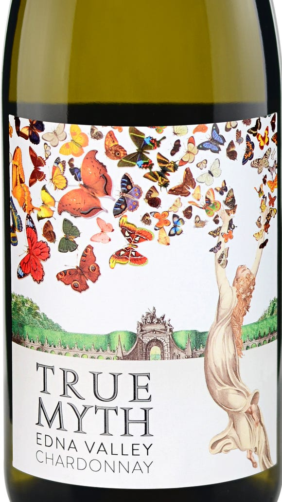 True Myth is loaded with crisp flavors of pear, pineapple, light citrus, vanilla bean and sweet oak.