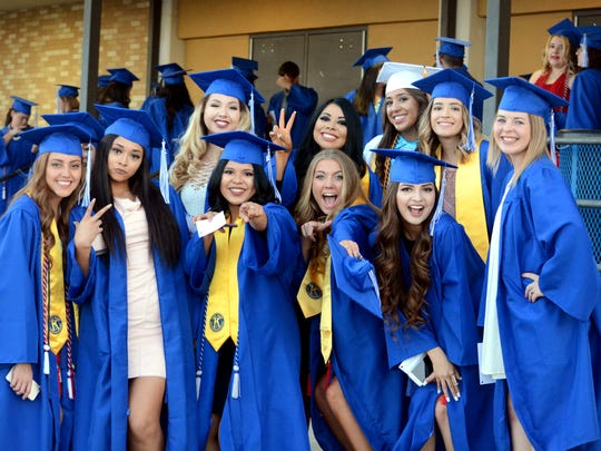 Carlsbad High held its 2016 graduation ceremony on Friday.