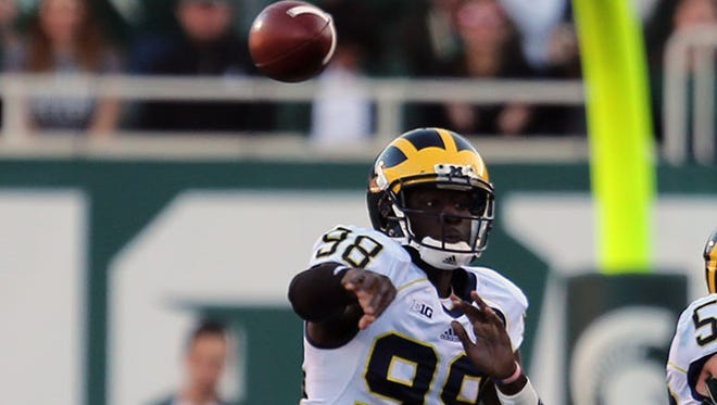 Michigan coach Devin Gardner
