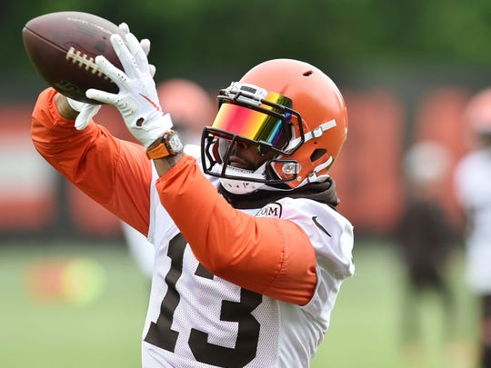 Receiver Odell Beckham Jr. gives Cleveland quarterback Baker Mayfield another dangerous option on offense.