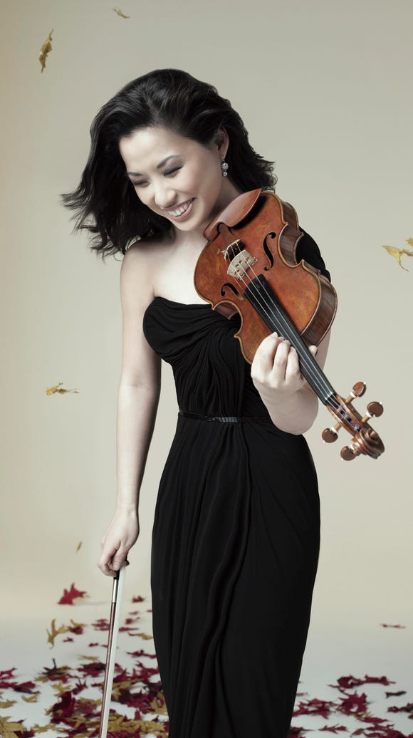 Sarah Chang performs for the Olympic Music Festival's