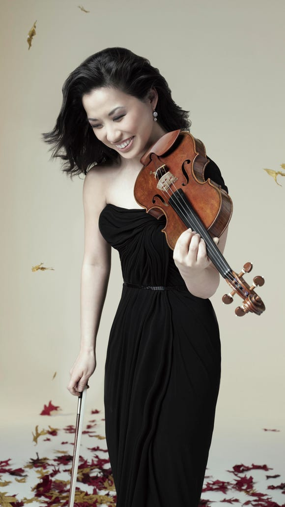 Sarah Chang performs for the Olympic Music Festival's summer gala July 9.