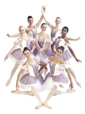 """Dancers in Twin City Ballet Company's """"Snow White."""""""