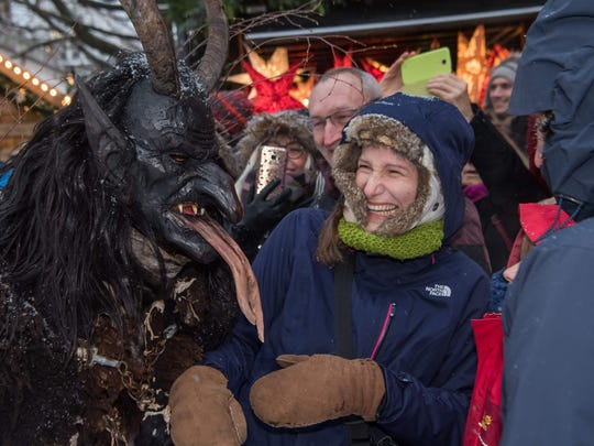 It is thought that the Krampus figure tradition dates